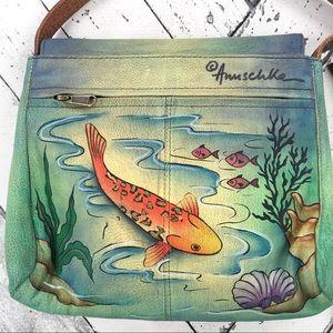 Anuschka Bags - Anuschka Koi Fish Crossbody Purse